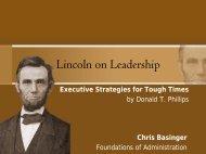 Leader Analysis Presentation (pdf file) - Employment