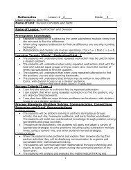 07E:163 Methods: Elementary School Mathematics - Employment