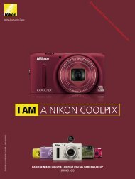 I AM A NIKON COOLPIX - Vanden Borre