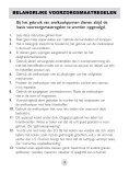 Gebruiksaanwijzing Roestvast edelstalen snelkookpan • 6 ... - Fonq.nl - Page 4