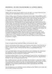 HOOFDSTUK 3 : DE STRUCTURATIETHEORIE VAN ANTHONY ...