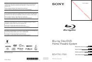Blu-ray Disc/DVD Home Theatre System - Vanden Borre