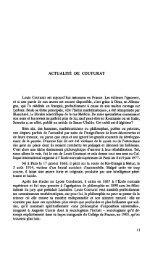 L'œuvre de Louis Couturat (1868-1914) - Numilog