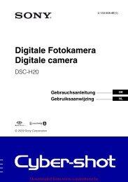 Digitale Fotokamera Digitale camera - Vanden Borre