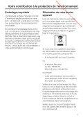 Mode d'emploi et notice de montage Combiné ... - Vanden Borre - Page 7