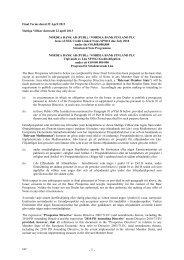 Final Terms dated 22 April 2013 Slutliga Villkor daterade ... - Carnegie