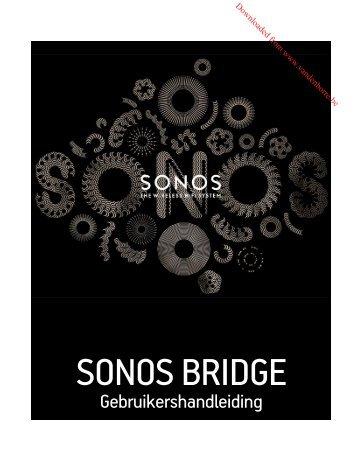 sonos bridge - Vanden Borre
