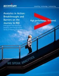 Accenture Analytics in Action: Breakthroughs and ... - Guardian