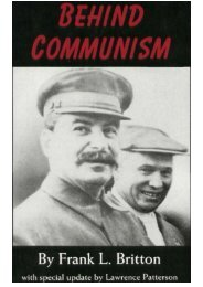 Behind Communism - The Works and Research of ZionCrimeFactory