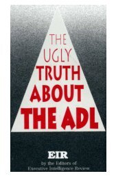 [pdf] The Ugly Truth about the ADL - Whale