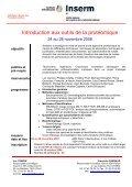 Introduction aux outils de la protéomique - Institut de Cancérologie ... - Page 2