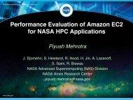 Performance Evaluation of Amazon EC2 for NASA HPC Applications