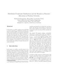 Distributed Constraint Satisfaction and the Bounds ... - ResearchGate