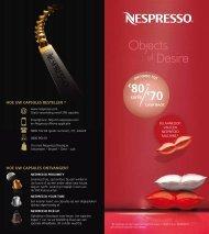 Nespresso - Lente promo: april