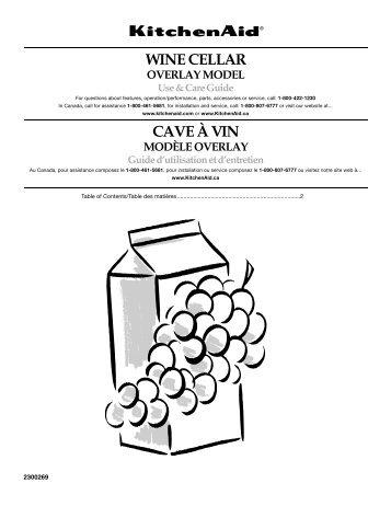 WINE CELLAR CAVE À VIN - Appliance 911 Forum