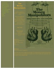 The Money Manipulators - The French Connection