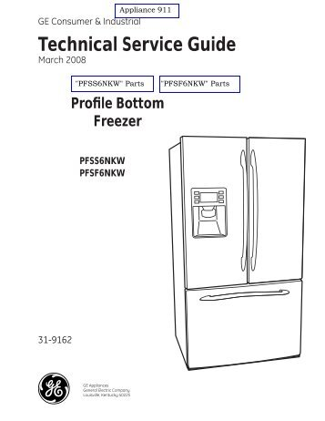 freezerator gaf z21xxmk00 gladiator series service manual rh yumpu com Samsung Refrigerator Wiring Diagram Simple Wiring Diagram Refrigerator
