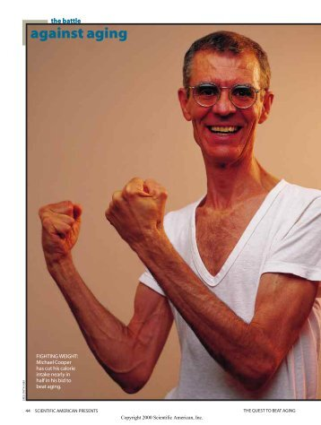 against aging - Scientific American Digital