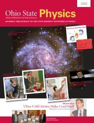 2006 Physics Ohio State - Department of Physics - The Ohio State ...