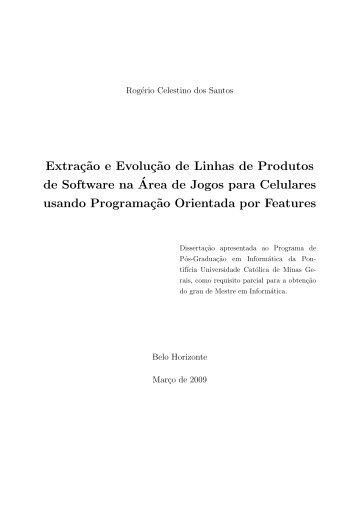 Extração e Evolução de Linhas de Produtos de Software na Área de ...
