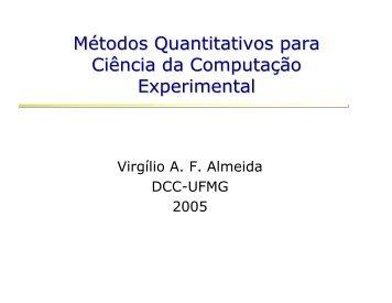 Aula 0 - Departamento de Ciência da Computação da UFMG