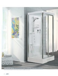 NEW HOLIDAY S2F100 Cabina doccia porta soffietto + 2 ... - Novellini