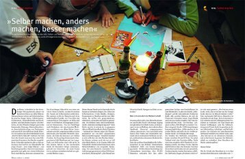 Selber machen, anders.... - Stiftungsgemeinschaft anstiftung & ertomis