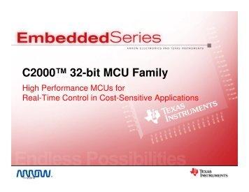 C2000™ 32-bit MCU Family