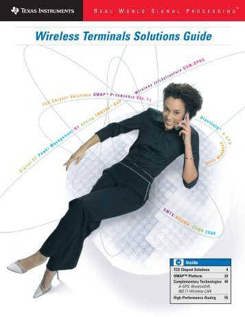 Wireless Terminals Solutions Guide - Texas Instruments