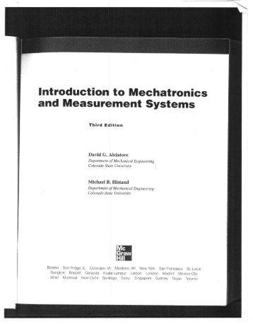 IntroductiOtl1 to Mechatronics and Measurel11ent ... - MAELabs UCSD