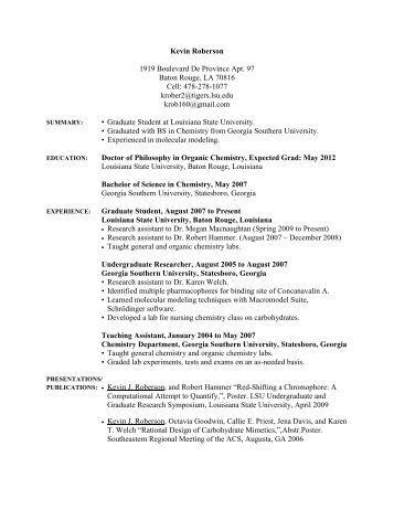 Student Resources