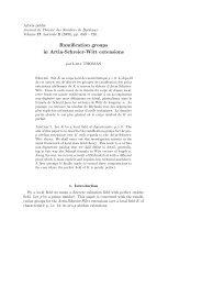 Ramification groups in Artin-Schreier-Witt extensions - EPFL