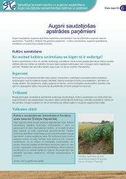 Augsni saudzējošas apstrādes paņēmieni - agrilife - Europa