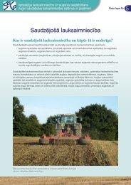 Saudzējošā lauksaimniecība - agrilife - Europa