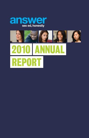 2010 annual report - Answer