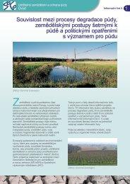 Souvislost mezi procesy degradace půdy ... - agrilife - Europa