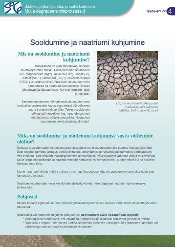 Mis on sooldumine ja naatriumi kuhjumine? - agrilife - Europa