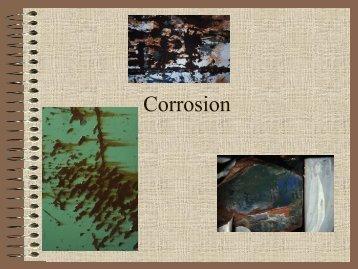 Corrosion (presentation)