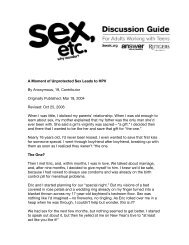 A Moment Of Unprotected Sex Article V1 - Answer