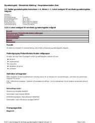 Gynækologisk - Obstetrisk Afdeling - Hospitalsenheden Vest ... - e-Dok