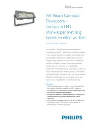 Product Familiy Leaflet: iW Reach Compact Powercore - Philips