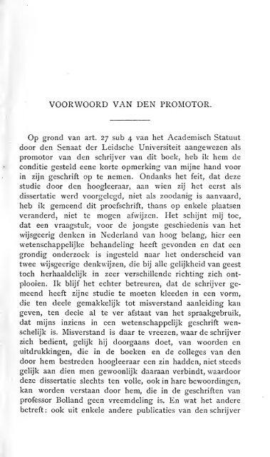 Over het onderscheid tusschen de wetenschap van Hegel en de ...