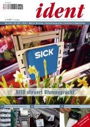RFID steuert Blumenpracht