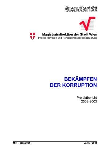 Magistratsdirektion der Stadt Wien