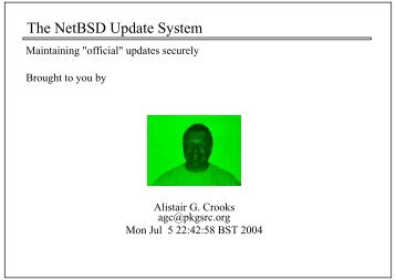 The NetBSD Update System
