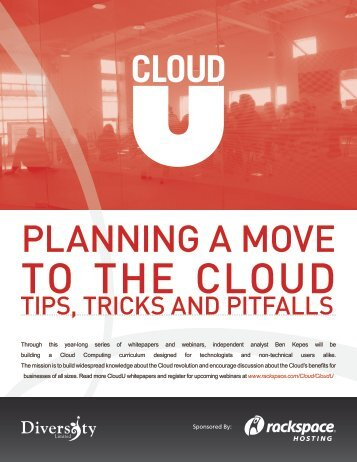 PLANNING A MOVE - The Diversity Blog - SaaS, Cloud & Business ...