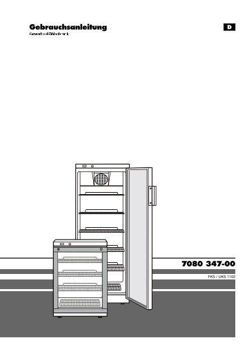 7080 347-00 Gebrauchsanleitung - Liebherr