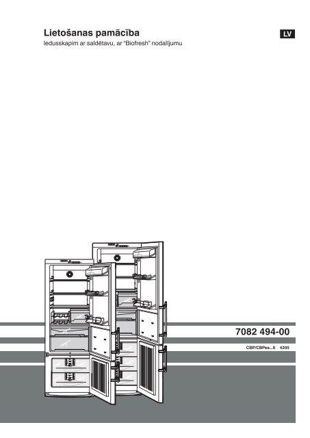 7082 494-00 Lietošanas pamācība - Liebherr