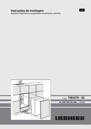 Instruções de montagem 161209 7084276 - 02 - Liebherr