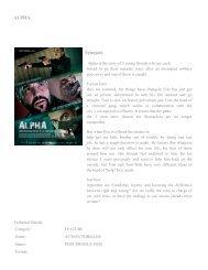 ALPHA Synopsis - FDb.cz